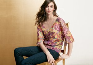 Printed Tops: Sweet Pea by Stacy Frati