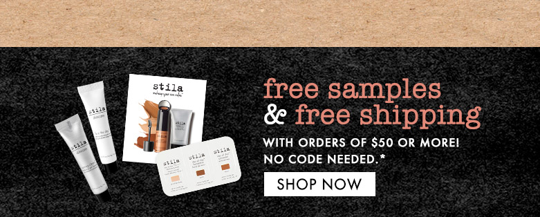 shop now and get freesamples+free shipping