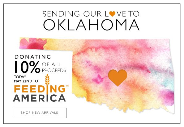 Sending Our Love To Oklahoma