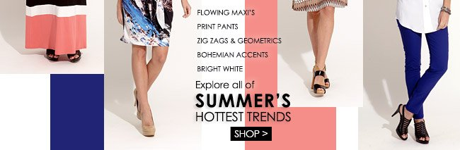 Shop Summer's Hottest Trends