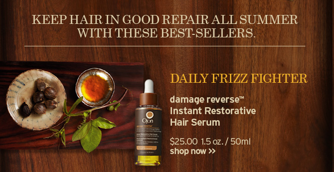 DAILY  FRIZZ FIGHTER damage reverse Instant Restorative Hair Serum SHOP NOW