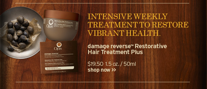 INTENSIVE WEEKLY TREATMENT TO RESTORE VIBRANT HEALTH damage reverse  Restorative Hair Treatment SHOP NOW