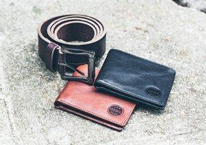 Shop Everyday Leather ft. Belts & Wallets
