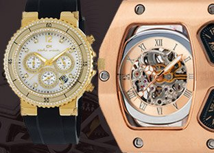 Carlo Monti Watches for Him, Made in Germany
