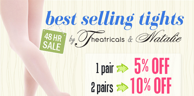 Theatricals and Natalie Tights 48 Hour Sale