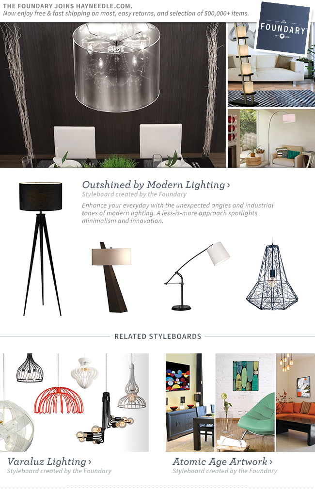Shop Modern Lighting.