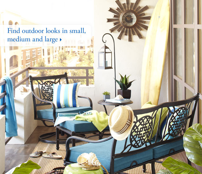 Find outdoor looks in small, medium and large
