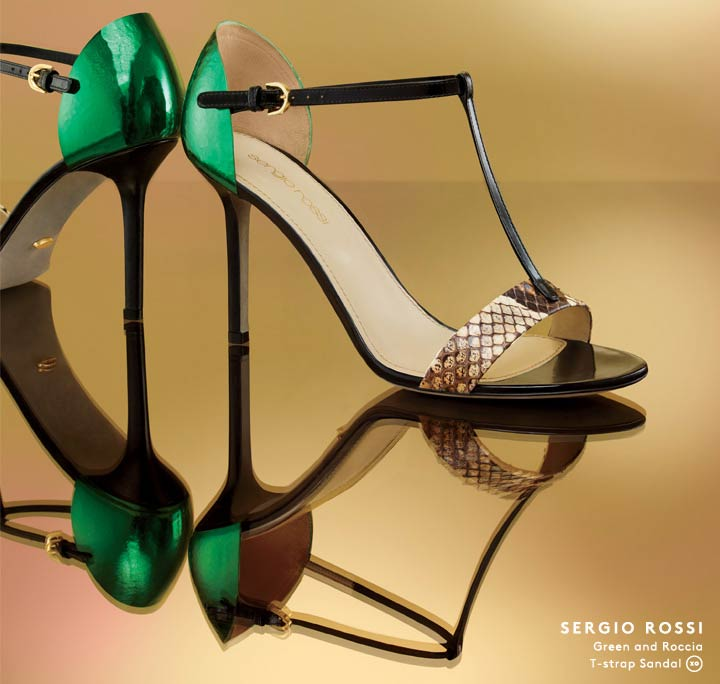 Summer stunners: Shop Sergio Rossi sandals and more.