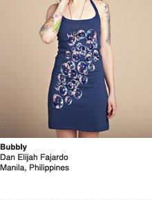 Bubbly - Design by Dan Elijah Fajardo / Manila, Philippines