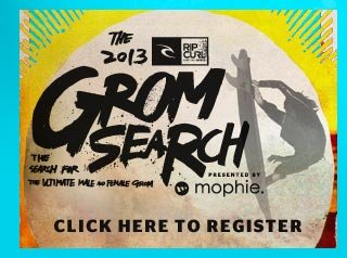 The Rip Curl Gromsearch - Click Here To Register