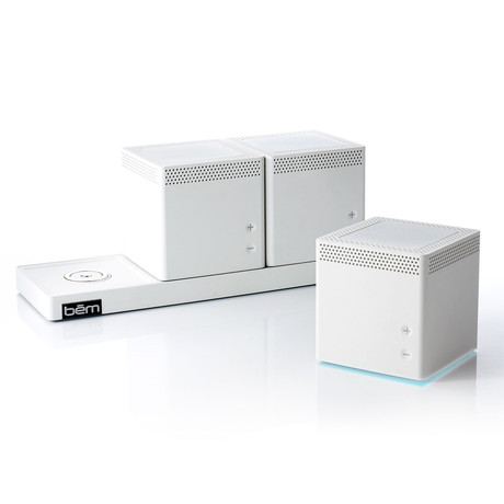 Speaker Trio // White