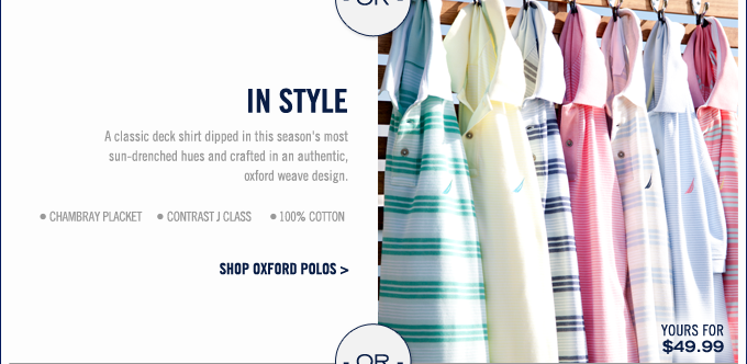 Shop Oxford Polos