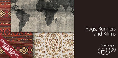 Rugs, Runners & Kilims