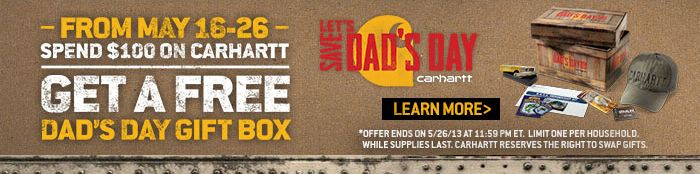 Spend $100 Get a Dad's Day Gift Box worth $75