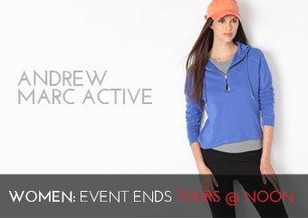 ANDREW MARC ACTIVEWEAR - WOMEN