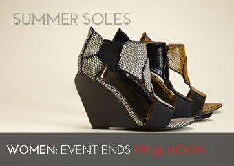 SUMMER SOLES - WOMEN'S SHOES