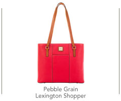 Pebble Grain Lexington Shopper