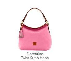 Florentine Twist Strap Hobo