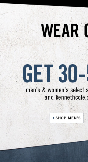 WEAR ON SALE.  Kenneth Cole // GET 30-50% OFF // Shop Men's