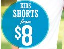 KIDS SHORTS from $8
