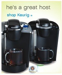 He's a great host. Shop Keurig.