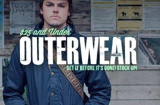 Outerwear $25 & Under