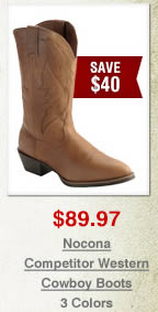 Nocona Competitor Western Cowboy Boots on Sale