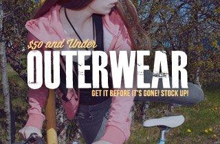 Outerwear $50 & Under