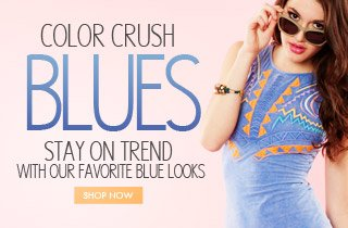 Color Crush: BLUES