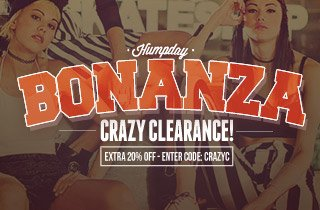 Humpday Bonanza: Take An Extra 20% Off