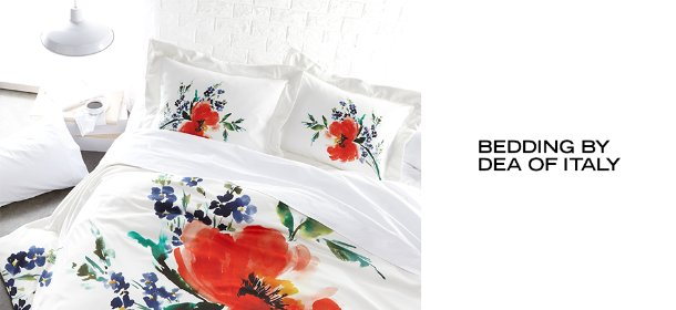 BEDDING BY DEA OF ITALY, Event Ends May 26, 9:00 AM PT >