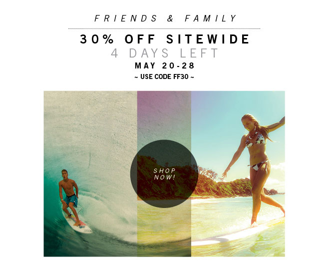 4 Days Left! 30% OFF Sitewide + Free Shipping Over $75