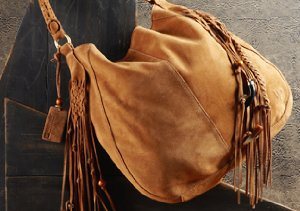 Boho-Chic Handbags & Scarves
