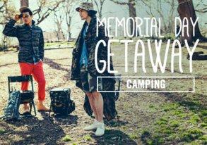 Shop Memorial Day Getaway: Camping