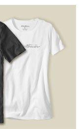 Eddie Bauer Logo T-Shirt