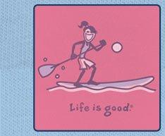 Jackie Paddleboard