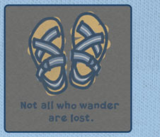 Men's Tee - Not All Who Wander