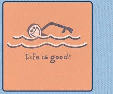 Men's Tee - Swimmer