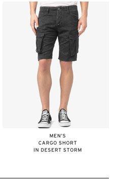 Men's Cargo Short in Desert Storm