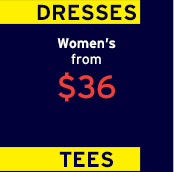 DRESSES | Women's from $36