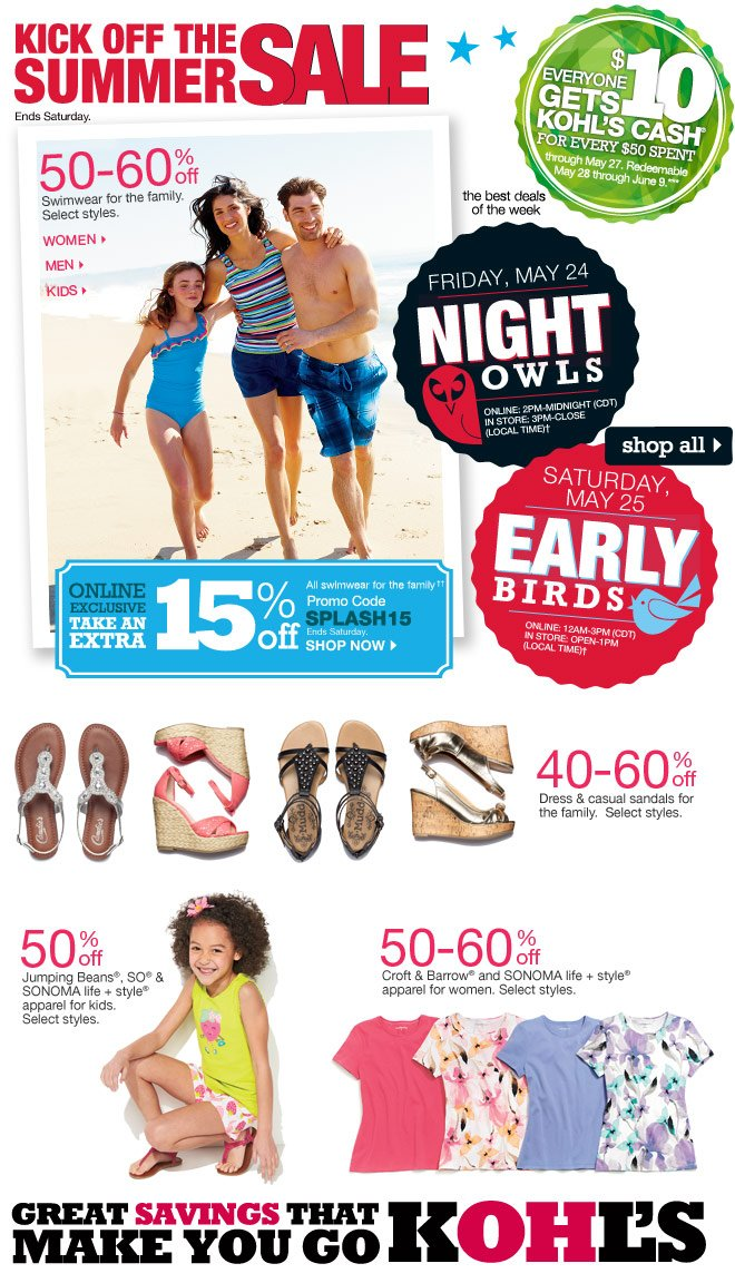 50-55% off Jumping Beans, SO, SONOMA life+style apparel for kids. Select styles.