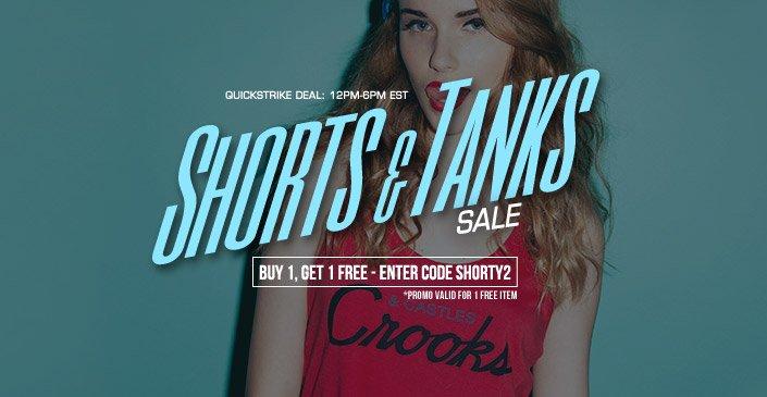 Shorts and Tanks