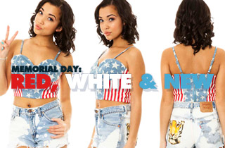 Memorial Day: Red, White, & Blue