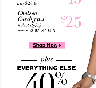 40% off EVERYTHING + tons of NY Deals! Shop NOW