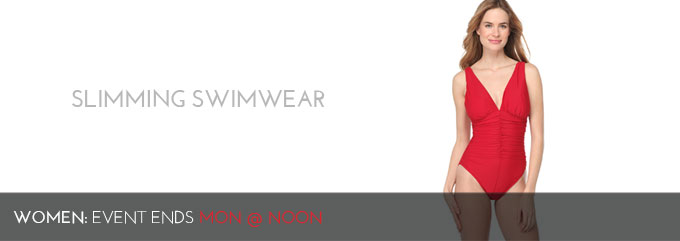 SLIMMING SWIMWEAR - WOMEN