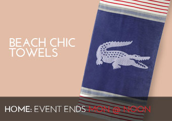 BEACH CHIC TOWELS - HOME