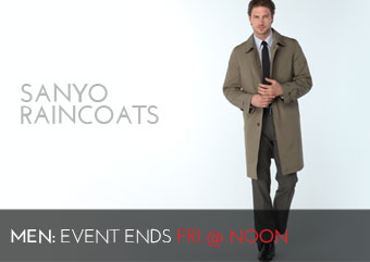SANYO RAINCOATS - MEN