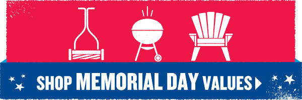 Shop Memorial Day Values