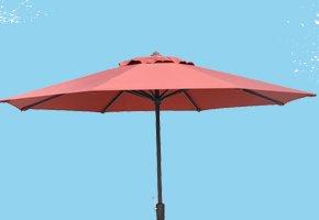 Garden Treasures Round Market Umbrella