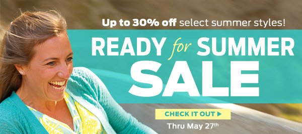 Sale! Up To 30% Off Select Styles ›